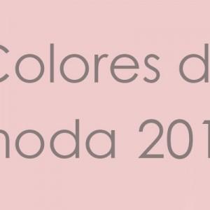 LOS COLORES DE MODA PRIMAVERA-VERANO 2016